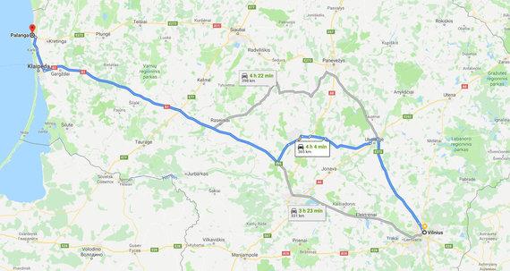 Maršrutas pro Ukmergę