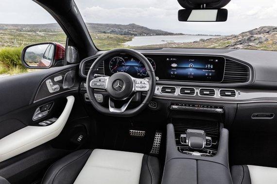 "Gamintojo nuotr./""Mercedes-Benz GLE Coupé"""