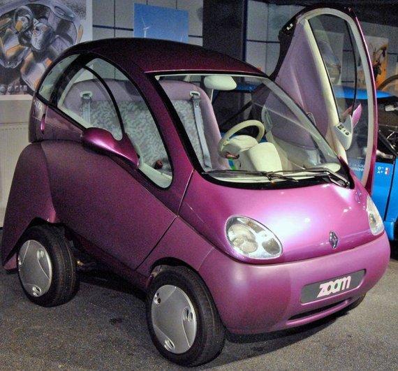 """Wikimedia nuotr./""""Renault Zoom"""" galėjo sutrumpėti, kad lengviau tilptų ankštoje stovėjimo vietoje"""