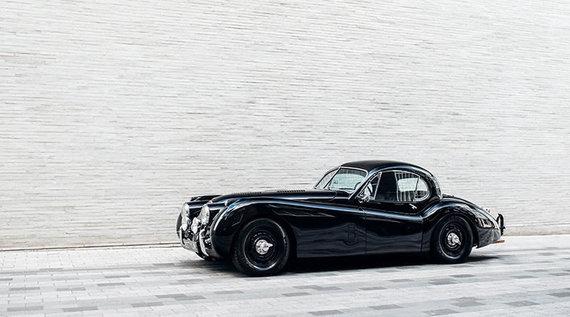 Pirmasis Lunaz automobilis gatvėse bus Jaguar XK120. (Lunaz nuotrauka)