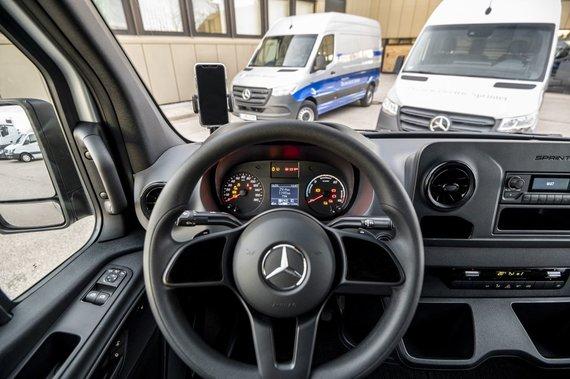 """Gamintojų nuotr./""""Mercedes-Benz """"eSprinter"""""""