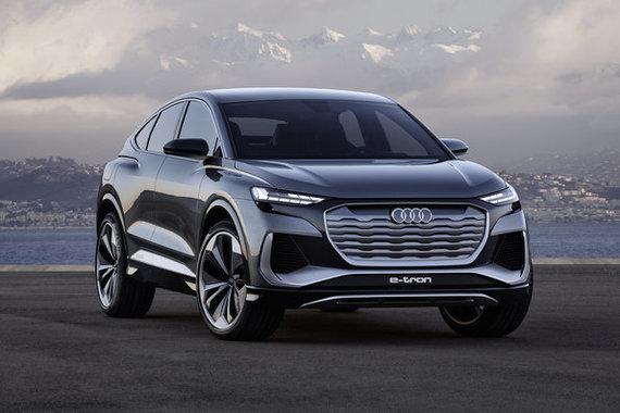"Gamintojo nuotr./Koncepcinis ""Audi Q4 Sportback e-tron"""