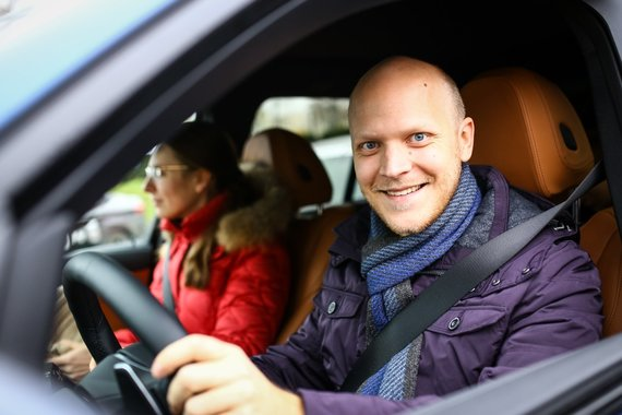 Lietuvos žurnalistų autoklubo nuotr./Matas Buzelis