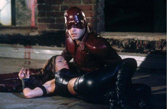 "Vida Press nuotr./Jennifer Garner ir Benas Affleckas filme ""Drąsiaširdis"""