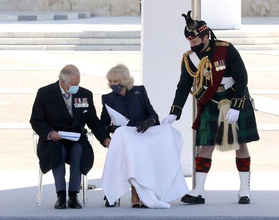 Vida Press nuotr./Princas Charlesas ir Kornvalio hercogienė Camilla Graikijoje