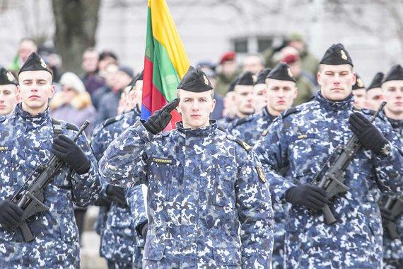 Arno Strumilos / 15min nuotr./Lietuvos kariuomenės dienos minėjimas