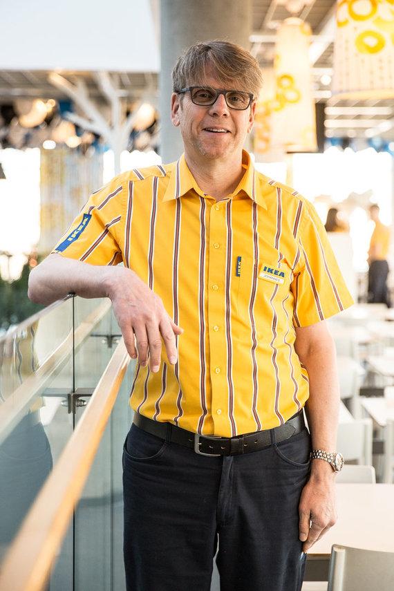 IKEA Lietuva nuotr./Johannes Johannessonas, IKEA mažmeninės prekybos vadovas Baltijos šalims