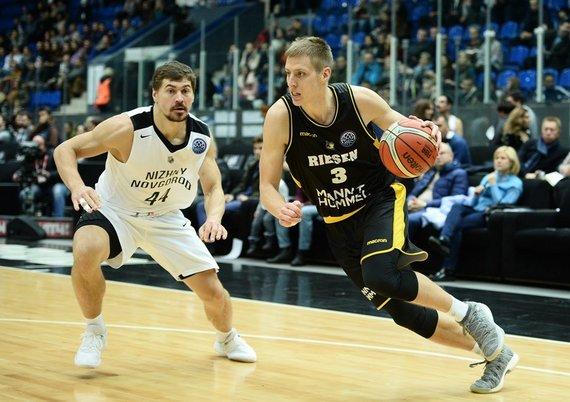 championsleague.basketball/Donatas Sabeckis