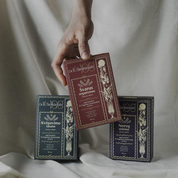ŠVF nuotr./Šviesaus atminimo vaistininkės palikimą įamžino Švenčionių vaistažolių fabrikas, sukūręs funkcinių sveikatinimo arbatų liniją