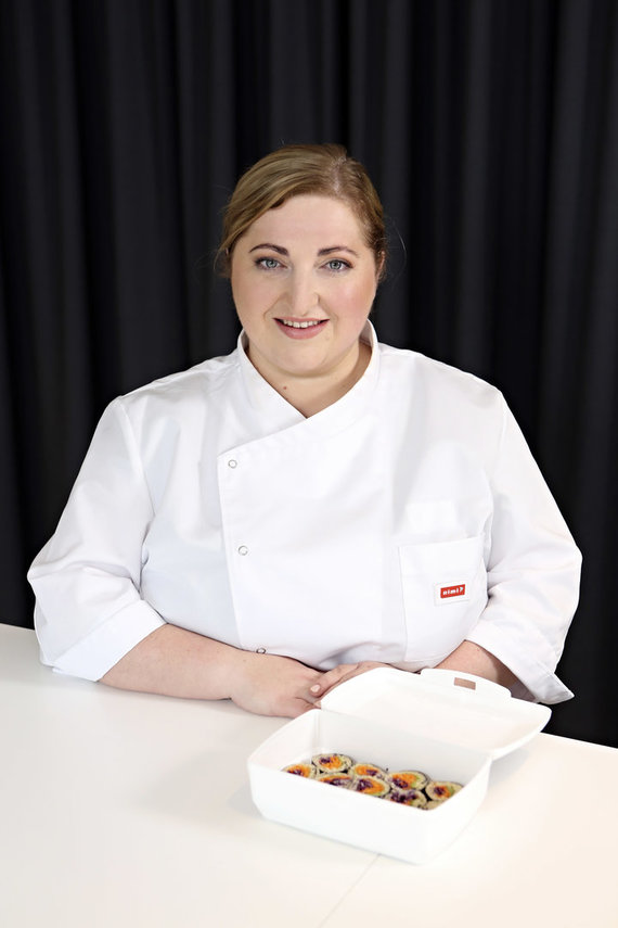 Projekto partnerio nuotr./Kulinarijos technologė-šefė Lina Barčaitė