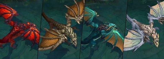Elementų drakonai - Riot Games