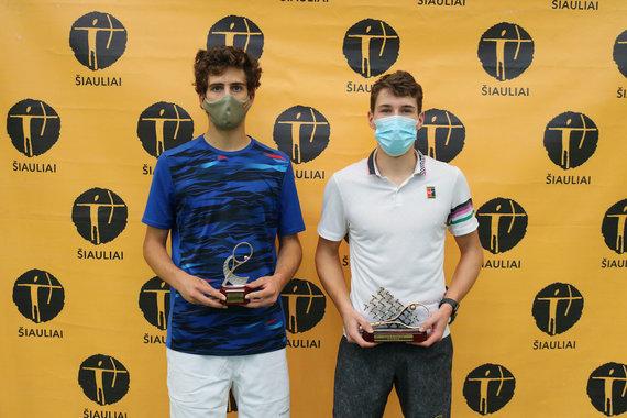 Organizatorių nuotr./Vaikinų finalo dalyviai: Pedro Rodenas (Ispanija) ir Adamas Jurajda (Čekija)