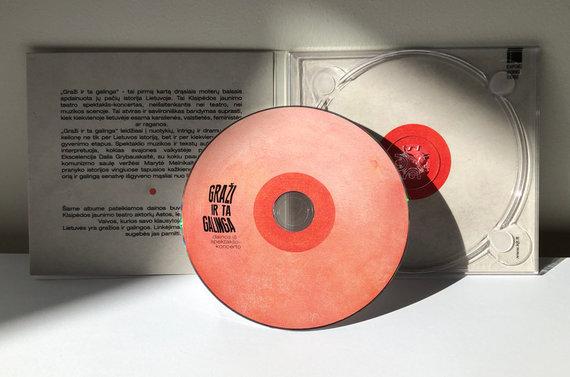 """Organizatorių nuotr./""""Graži ir ta galinga"""" kompaktinis diskas"""