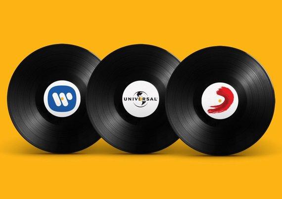 Erico Karpel dizainas /Trys didžiausios muzikos įrašų kompanijos