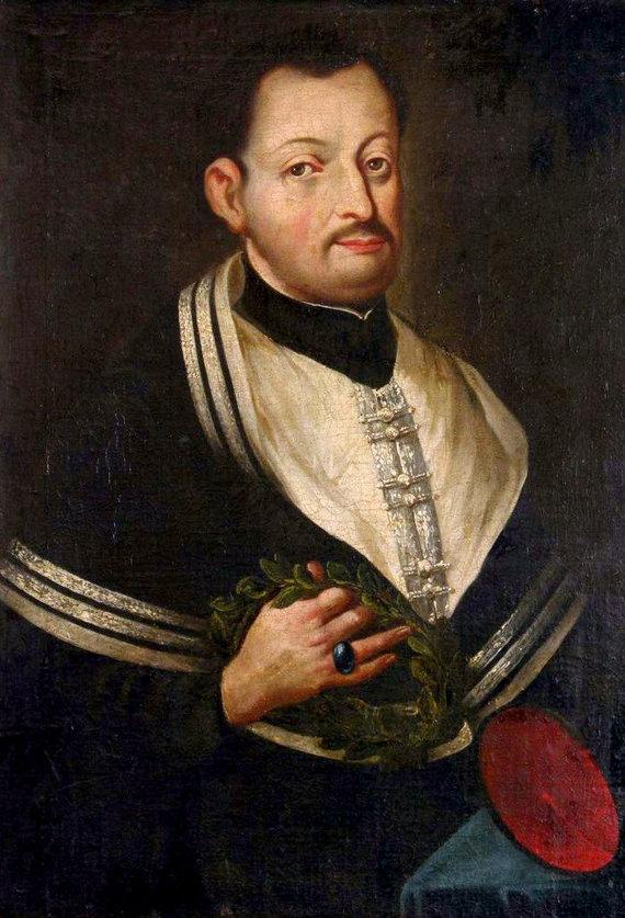 Wikipedia commons nuotr./Motiejus Kazimieras Sarbievijus