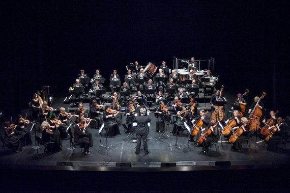 Olesios Kasabovos nuotr./T.Ambrozaitis ir KVMT orkestras