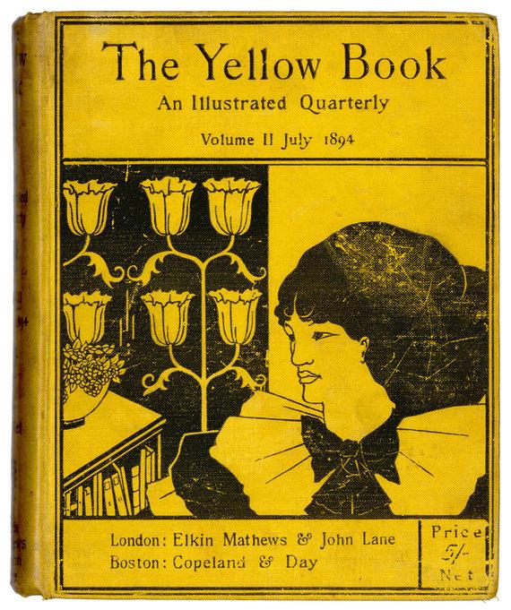 """""""Scanpix"""" nuotr./""""Geltoną knygą"""" iliustravo Aubrey Beardsley 1984 metais"""