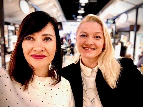 """""""kitchen Rules"""" komanda: Ieva Vaičiūnaitė ir Jurgita Viltrakienė"""