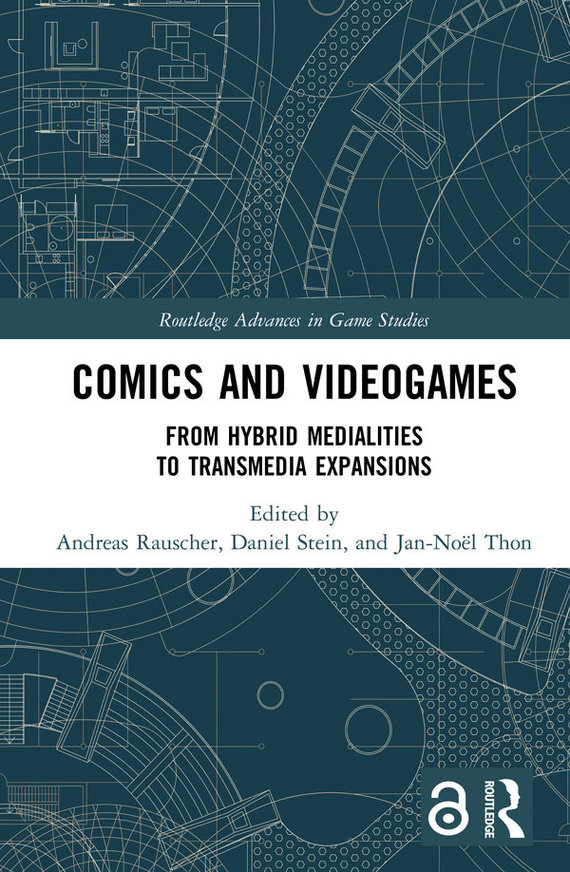 "Knygos viršelis/""Comics and Video Games"""