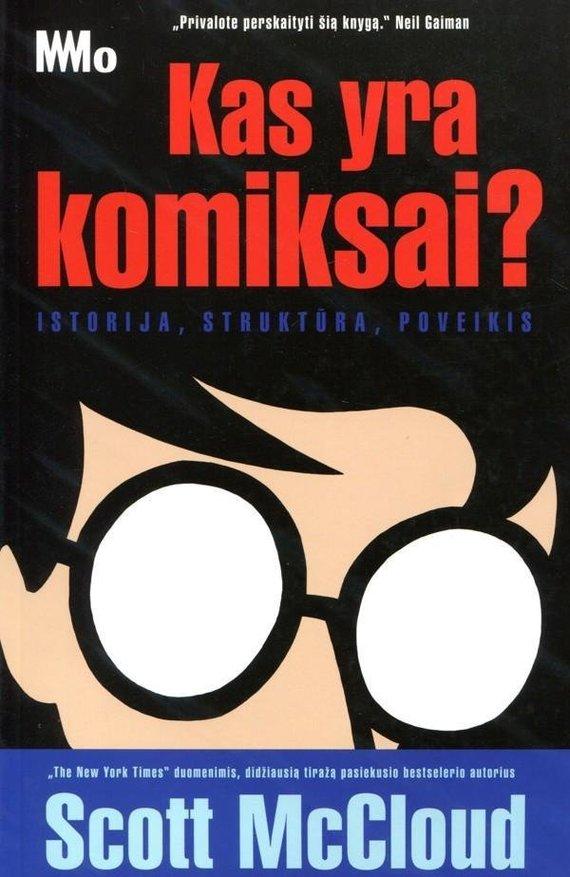 """Knygos viršelis/""""Kas yra komiksai?"""""""