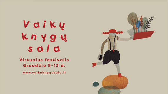 """Festivalio organizatorių nuotr./""""Vaikų knygų salos"""" plakatas"""
