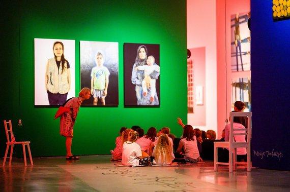 MO muziejaus nuotr./Vaikų stovykla muziejuje