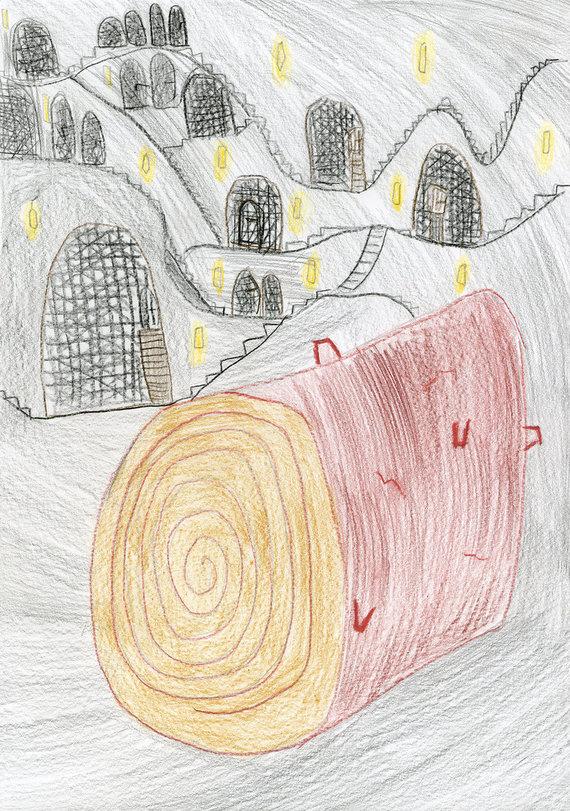 """""""Alma littera"""" nuotr./Simono Ignatavičiaus piešinys"""