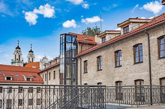 Darius Gurski/Urbanistinio interjero apartamentai Grafų rezidencijoje Trakų g. Vilniuje
