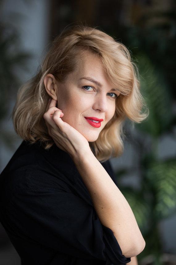 G.Skaraitienės nuotr./R.Kulvinskytė stengiasi koncentruotis į teigiamus kasdienybės momentus