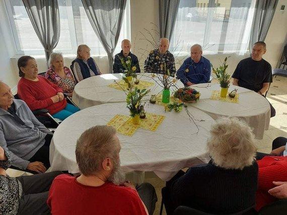 Adutiškio senelių namų nuotr./Dabar senelių namuose gyvenančių žmonių amžius – nuo 55 iki 94 metų, maždaug 60 proc. gyventojų sudaro moterys