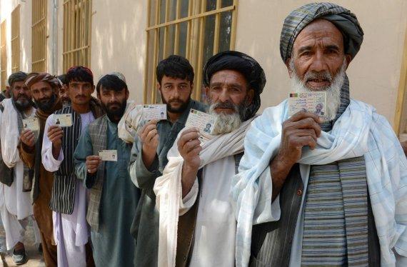 "AFP/""Scanpix"" nuotr./Rinkimai Afganistane"