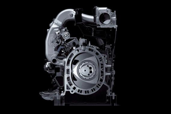 "Gamintojo nuotr./""Mazda"" rotorinis variklis"
