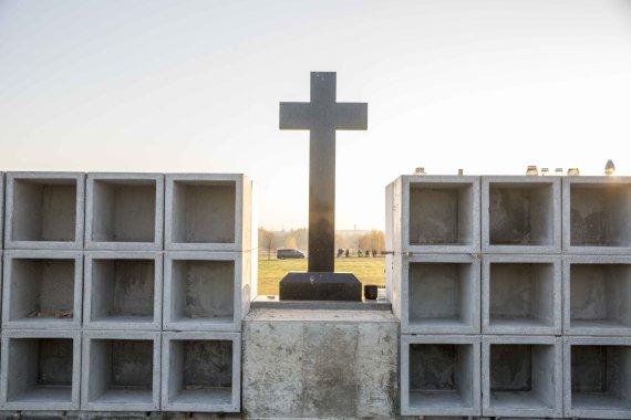 Luko Balandžio / 15min nuotr./Kolumbariumas Liepynės kapinėse