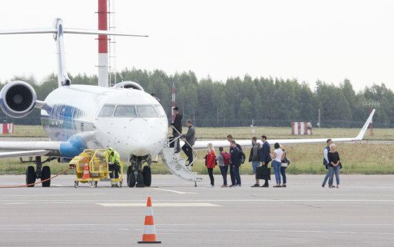 Valdo Kopūsto / 15min nuotr./Tarptautinis Vilniaus oro uostas