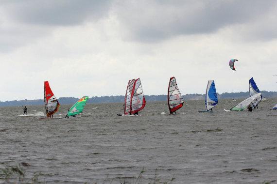 Valerijos Guiskajos/15min nuotr./Surfhouse Wind Fest Svencelė