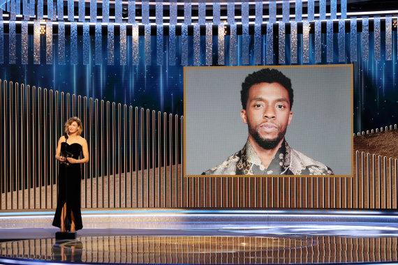 Vida Press nuotr./Chadwickas Bosemanas paskelbtas geriausiu aktoriumi