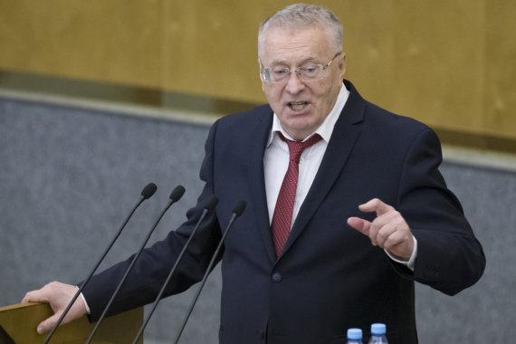 """Scanpix""/AP nuotr./Vladimiras Žirinovskis"