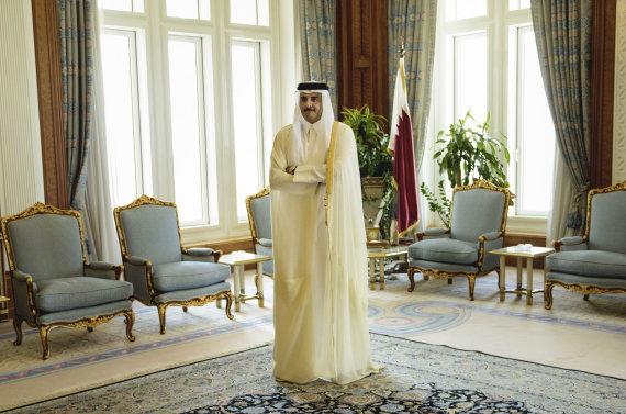 """""""Scanpix""""/AP nuotr./Kataro emyras šeichas Tamimas bin Hamadas Al Thani"""