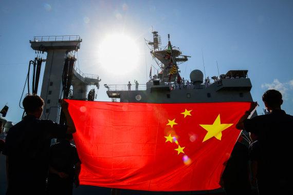 """""""Scanpix""""/""""Xinhua""""/""""Sipa USA"""" nuotr./Kinijos karo laivas"""