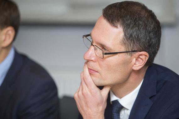 Roko Lukoševičiaus / 15min nuotr./Teisingumo ministras Elvinas Jankevičius