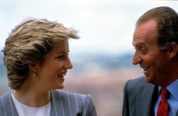 Vida Press nuotr./Princesė Diana Ir Juanas Carlosas