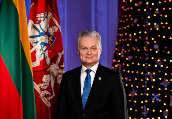 Lietuvos prezidento komunikacijos grupės nuotr./Lietuvos Respublikos prezidentas Gitanas Nausėda