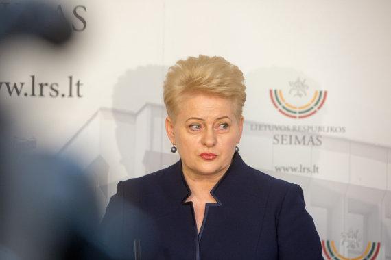 Juliaus Kalinsko/15min.lt nuotr./Dalia Grybauskaitė