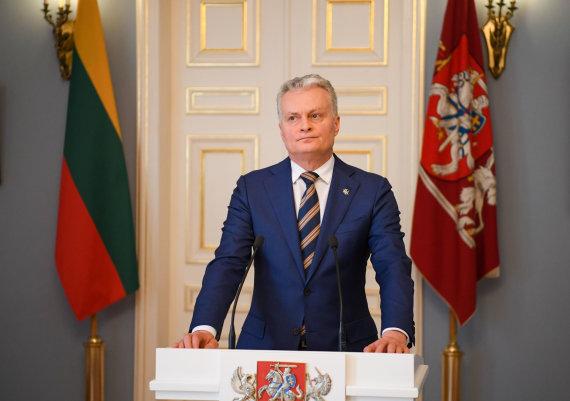 LR Prezidento kanceliarijos / R.Dačkaus nuotr./Gitanas Nausėda