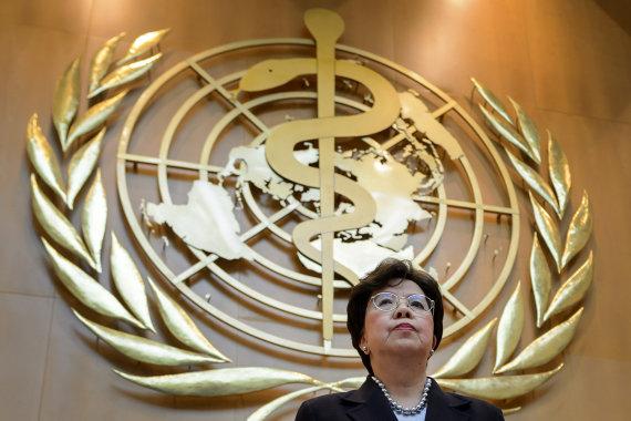 """AFP/""""Scanpix"""" nuotr./Pasaulio sveikatos organizacija (PSO)"""