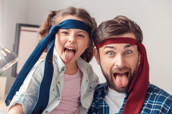 123RF.com nuotr./Tėvas su dukra