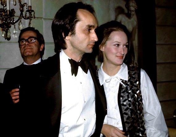 Vida Press nuotr./Johnas Cazale'as ir Meryl Streep 1977-aisiais