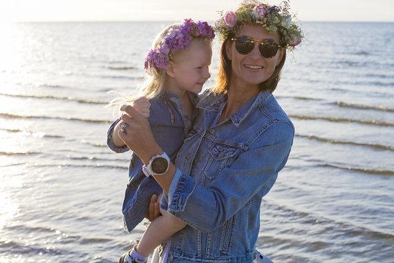 Asmeninio archyvo nuotr./Šarūnė su dukra Ieva