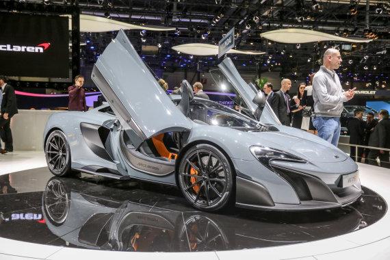"Juliaus Kalinsko / 15min nuotr./""McLaren 675LT"""