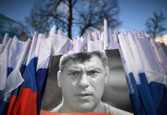"""""""Sputnik""""/""""Scanpix"""" nuotr./2015 metais Maskvoje nušautas Borisas Nemcovas"""